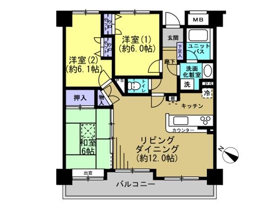 中古マンション ファミール北安東レジデンス306(葵区北安東3丁目)