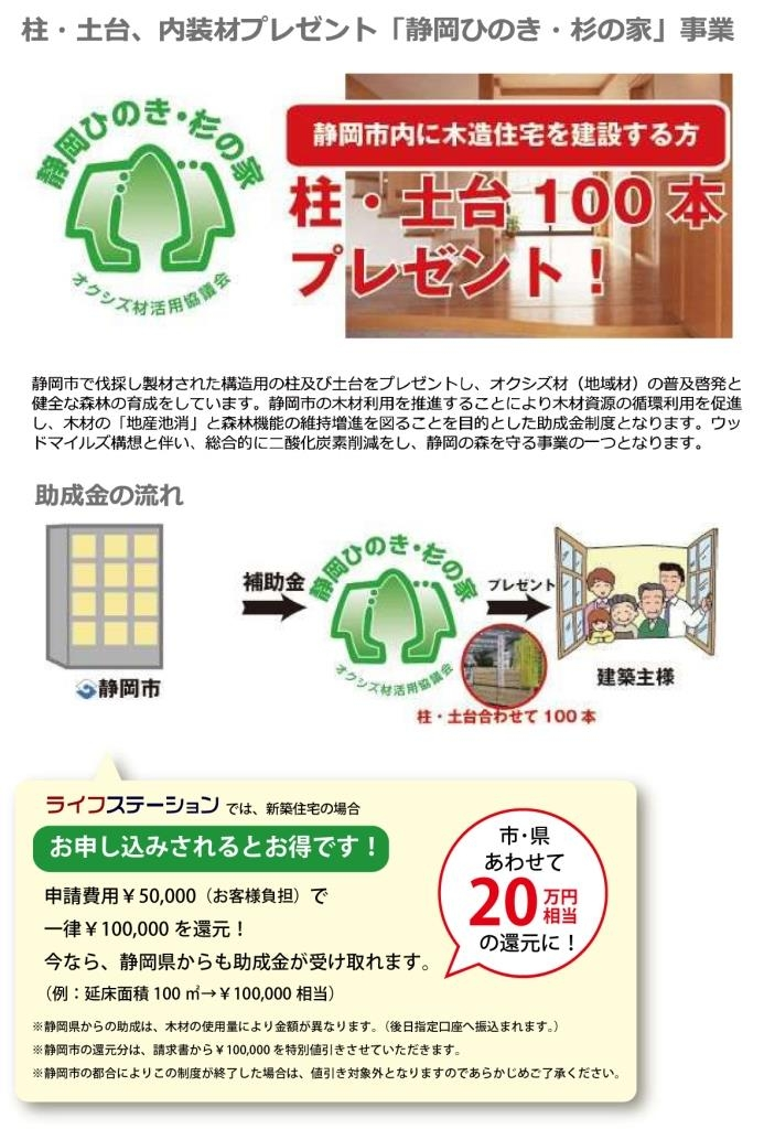 「静岡ひのき・杉の家」推進事業