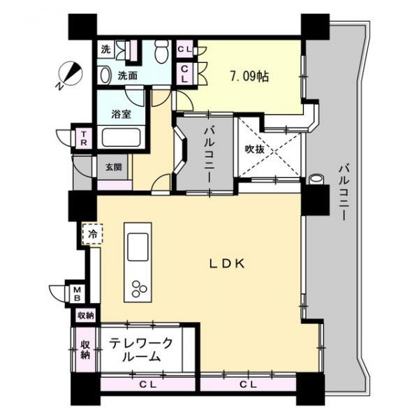80930_中古マンション エンブルシティ東静岡1102